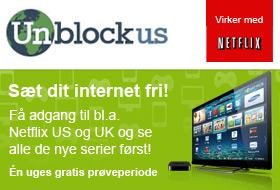Prøv Unblock-US og sæt dit Netflix fri!